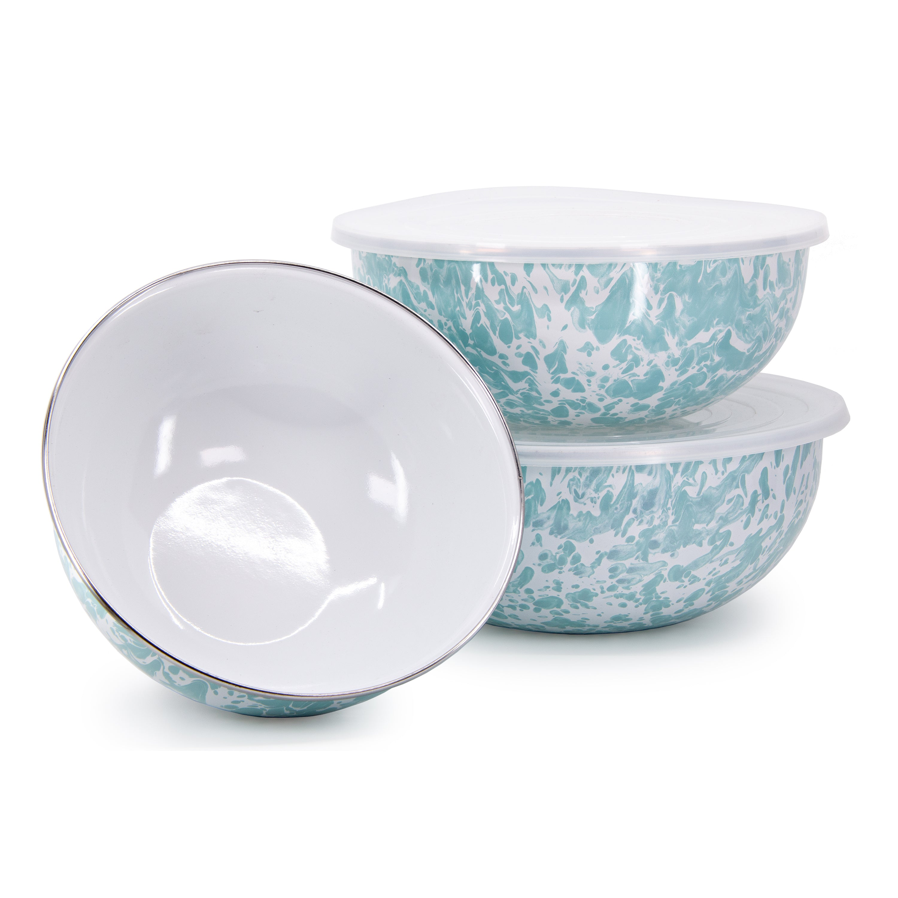 GL54 - Sea Glass Mixing Bowls Image 1
