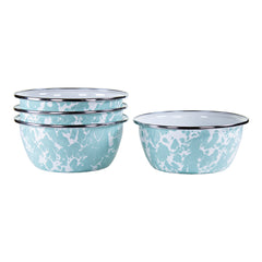 GL61S4 - Set of 4 Sea Glass Salad Bowls Image 1