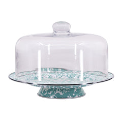 GL76 - Sea Glass Cake Plate Image 2