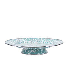 GL76 - Sea Glass Cake Plate Image 1