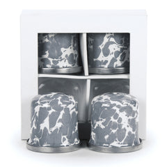 GY37 - Grey Swirl Pattern - Salt & Pepper