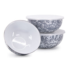 GY54 - Grey Swirl Mixing Bowls Image 1