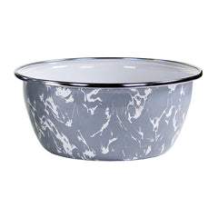 GY61S4 - Set of 4 Grey Swirl Salad Bowls Image 2