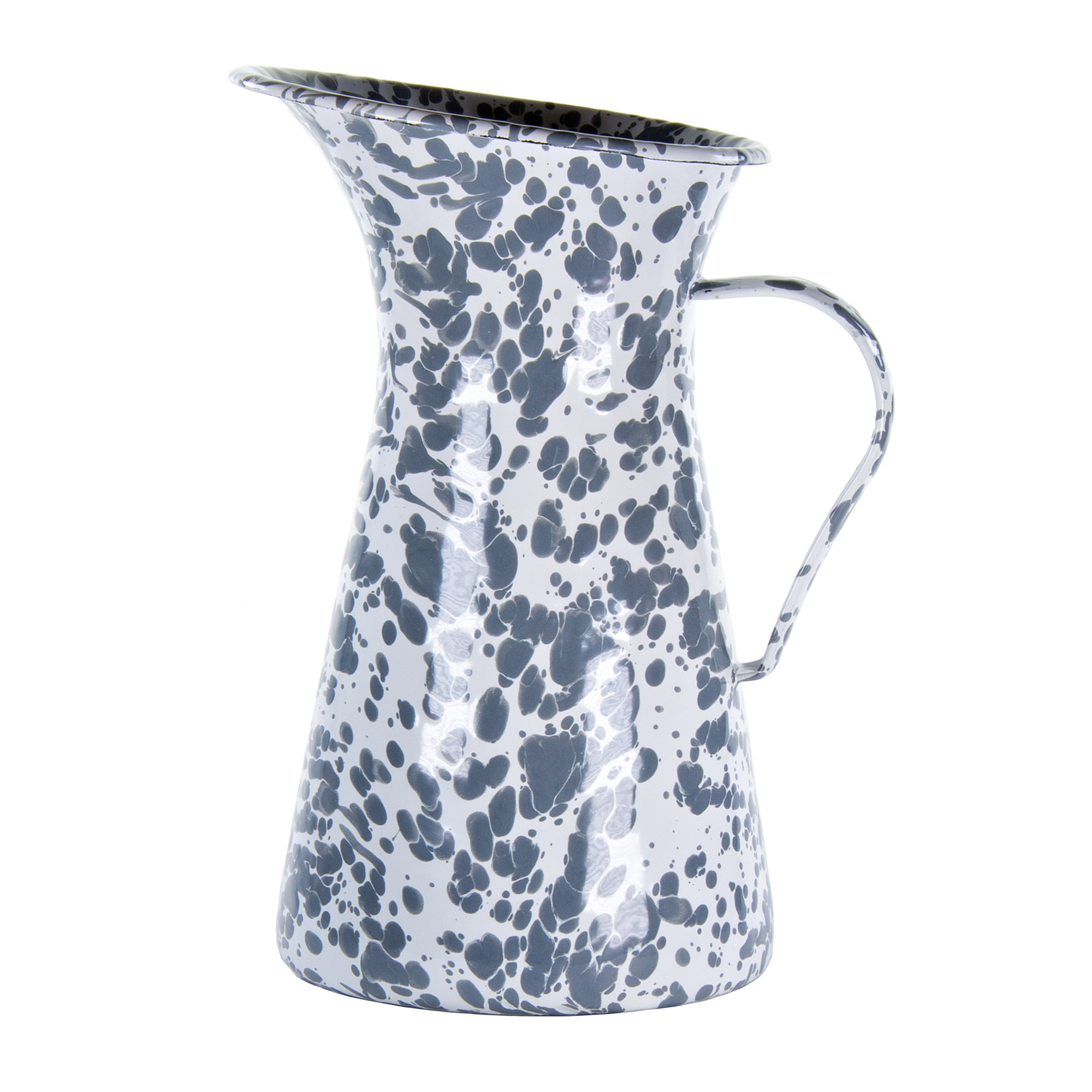 GY63 - Grey Swirl Medium Pitcher Image 1