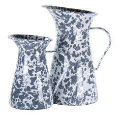GY33 - Grey Swirl Small Pitcher Image 2