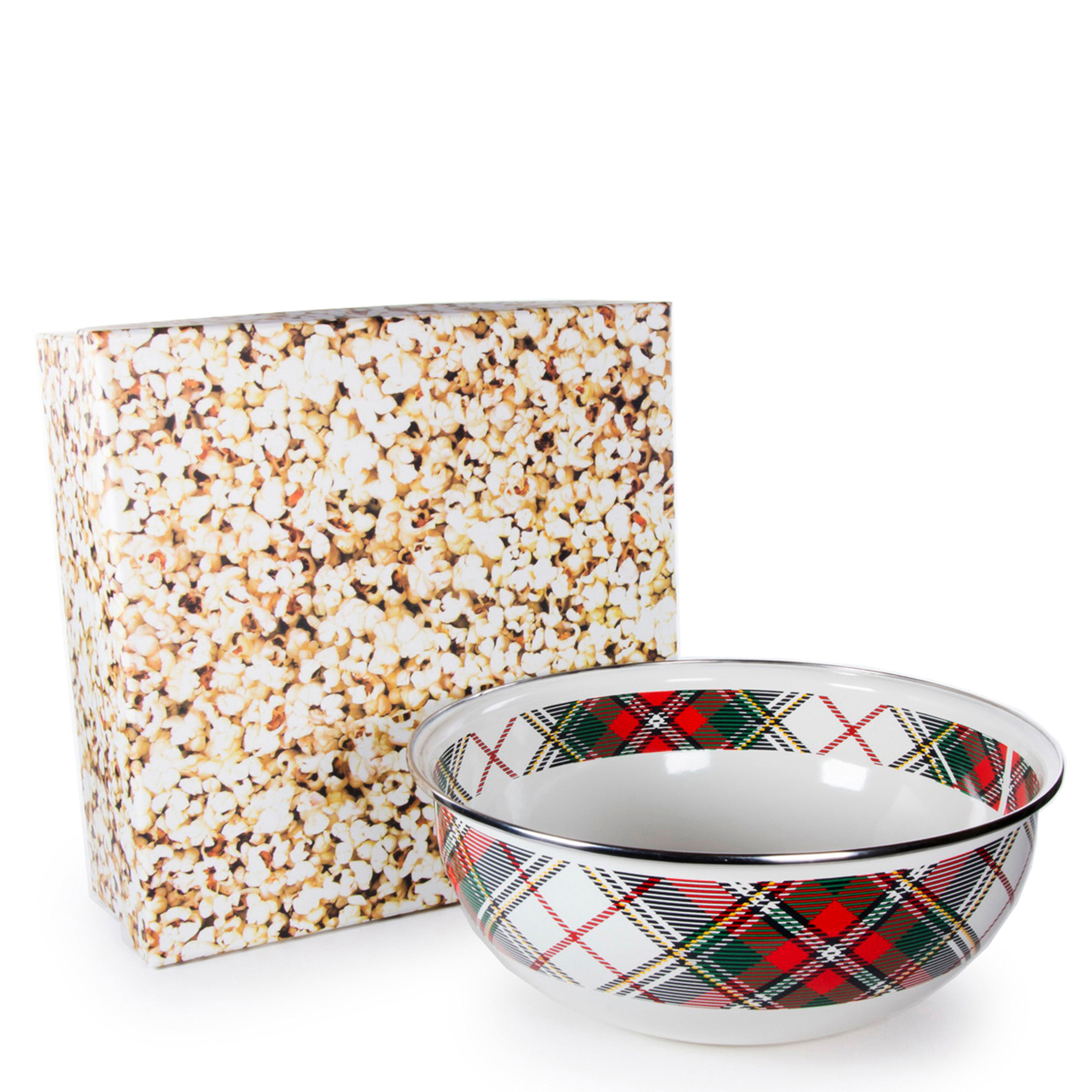 Highland Plaid Popcorn Boxed
