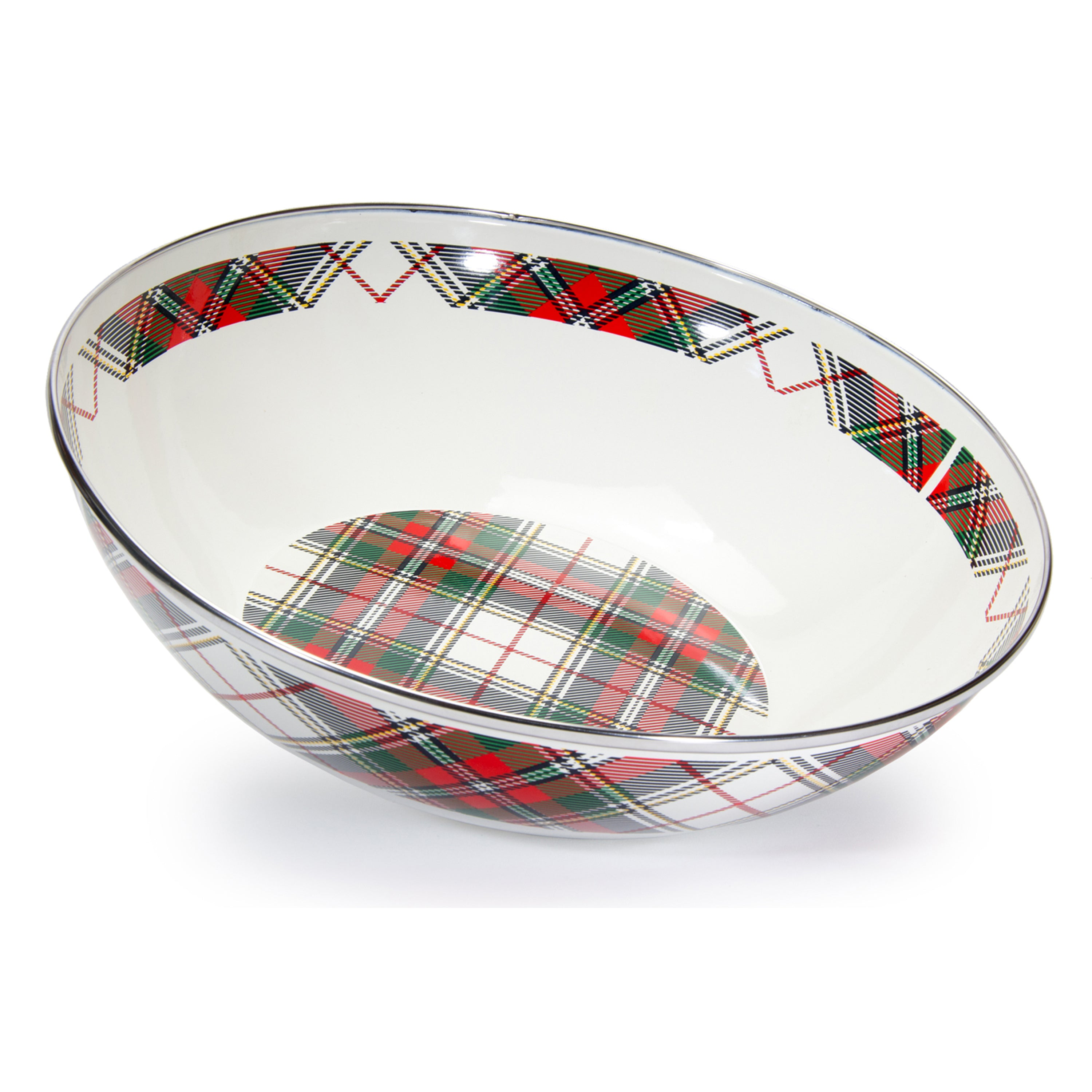 HP18 - Highland Plaid Catering Bowl Image 1