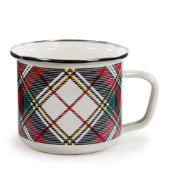 HP28S4 - Set of 4 Highland Plaid Grande Mugs Product 1