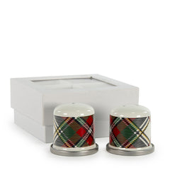 HP37 - Highland Plaid Pattern - Salt & Pepper