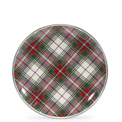 HP56S4 - Set of 4 Highland Plaid Dinner Plates Product 1