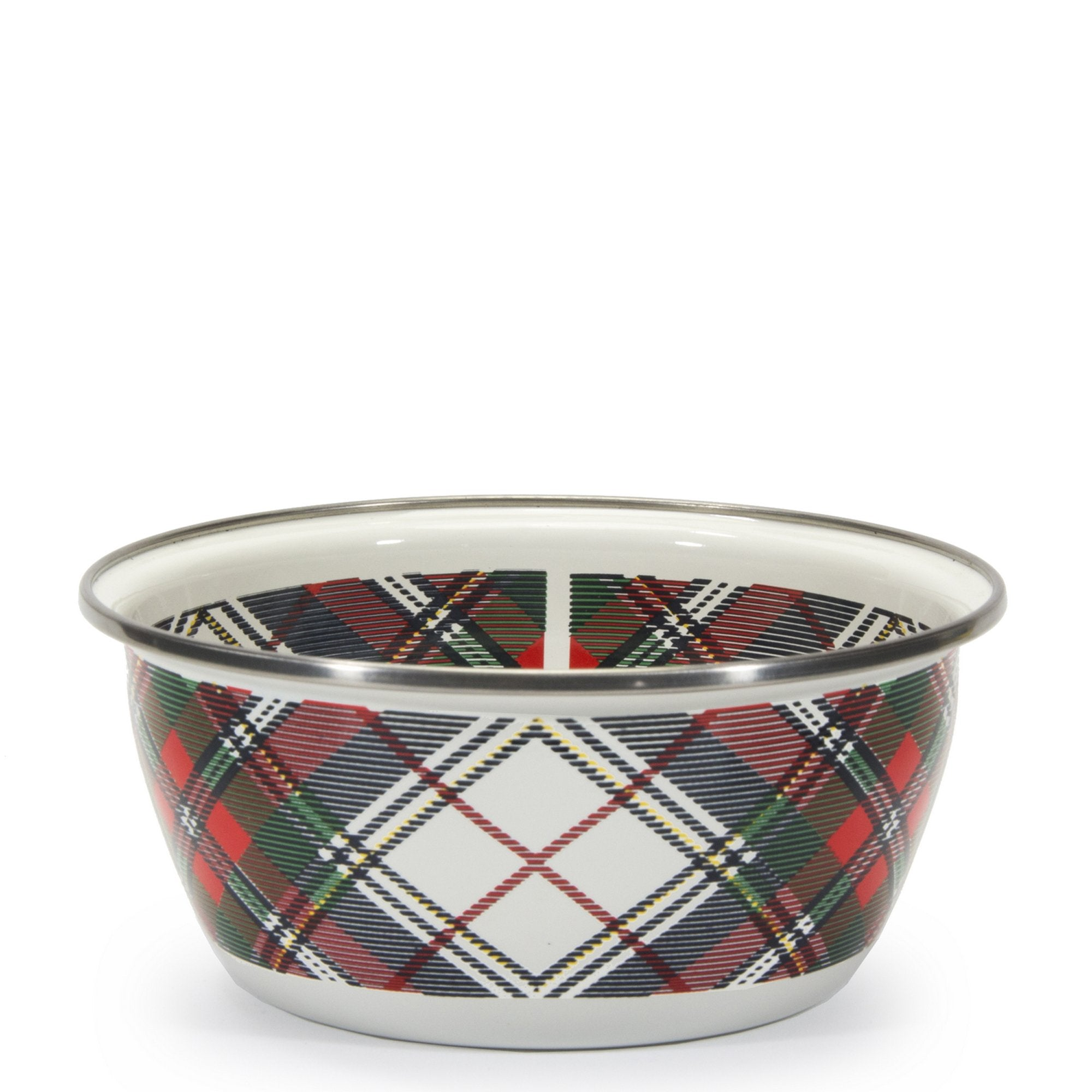 HP61 - Highland Plaid Pattern - Salad Bowl