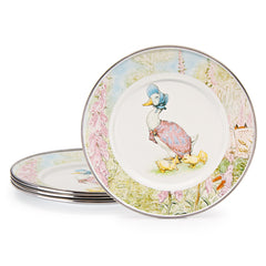 Set of 4 Jemima Puddle-duck Child Plates