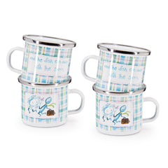 Set of 4 Nursery Rhyme Child Mugs