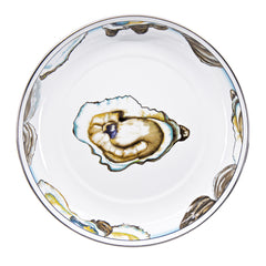 Set of 4 Oyster Pasta Plates