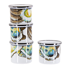 Set of 4 Oyster Shooters