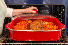 RR19 - Solid Red Sauce Pan Image 2