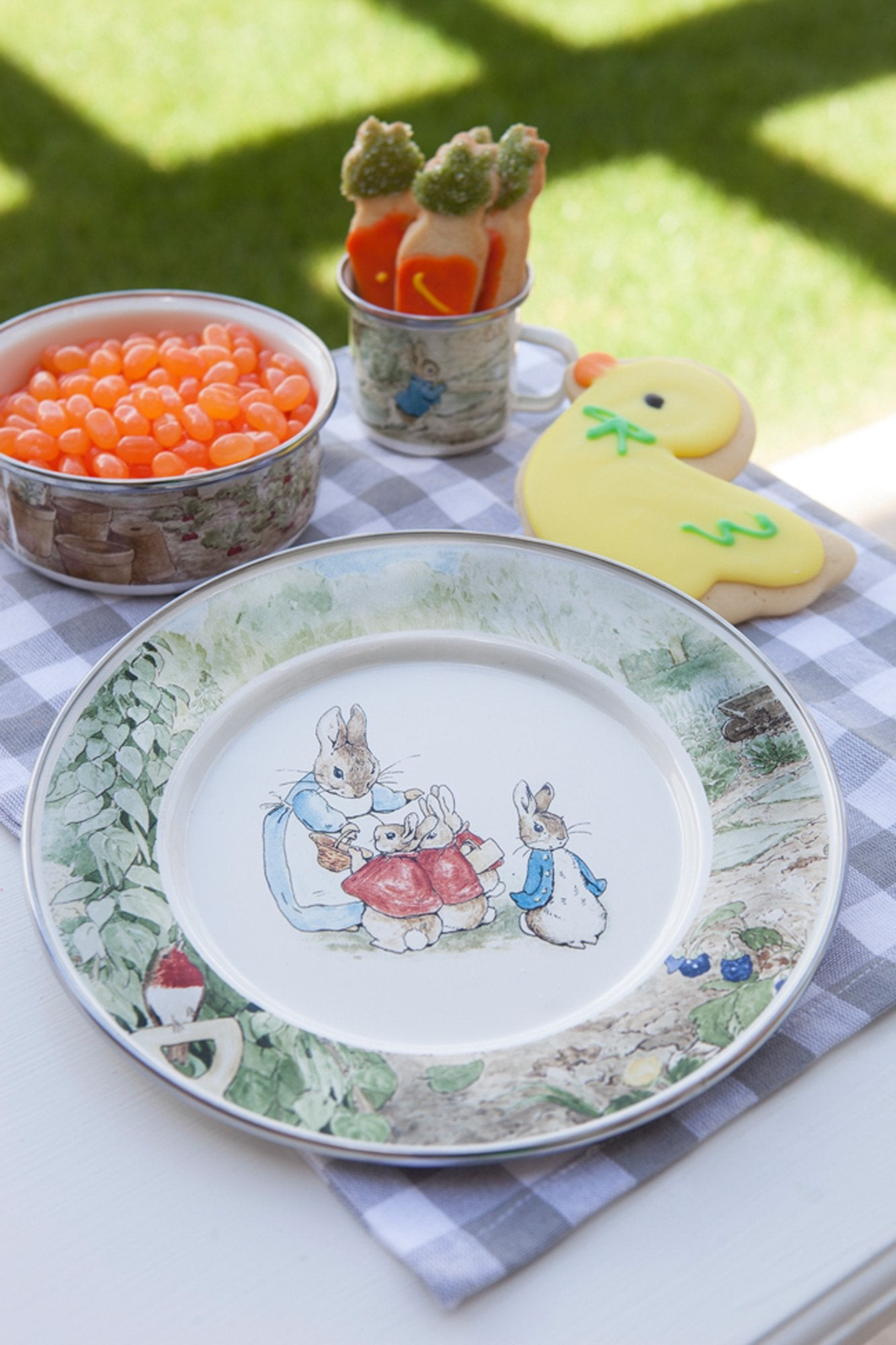 BP16 - Peter Rabbit Toddler Plate Image 2