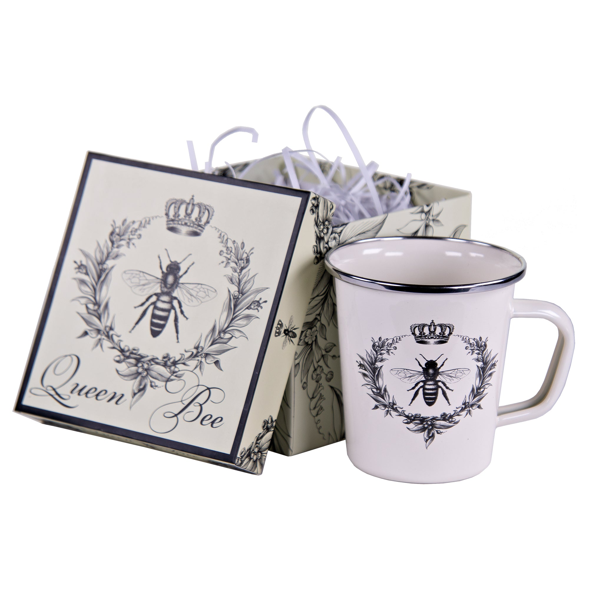 Queen Bee Giftboxed Mug