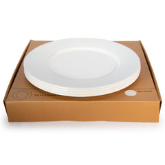 RCC91 - Rolled Cream Plate Set/4 Image 1