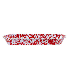 RD10 - Red Swirl Oval Basket Image 2