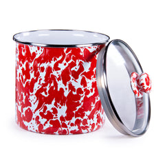RD38 - Red Swirl Canister Image 1