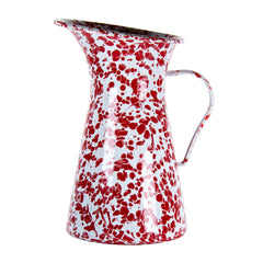 RD63 - Red Swirl Medium Pitcher Image 1
