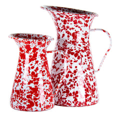 RD33 - Red Swirl Small Pitcher Image 2