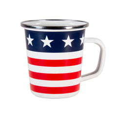 SS66S4 - Set of 4 Stars & Stripes Latte Mugs Image 2
