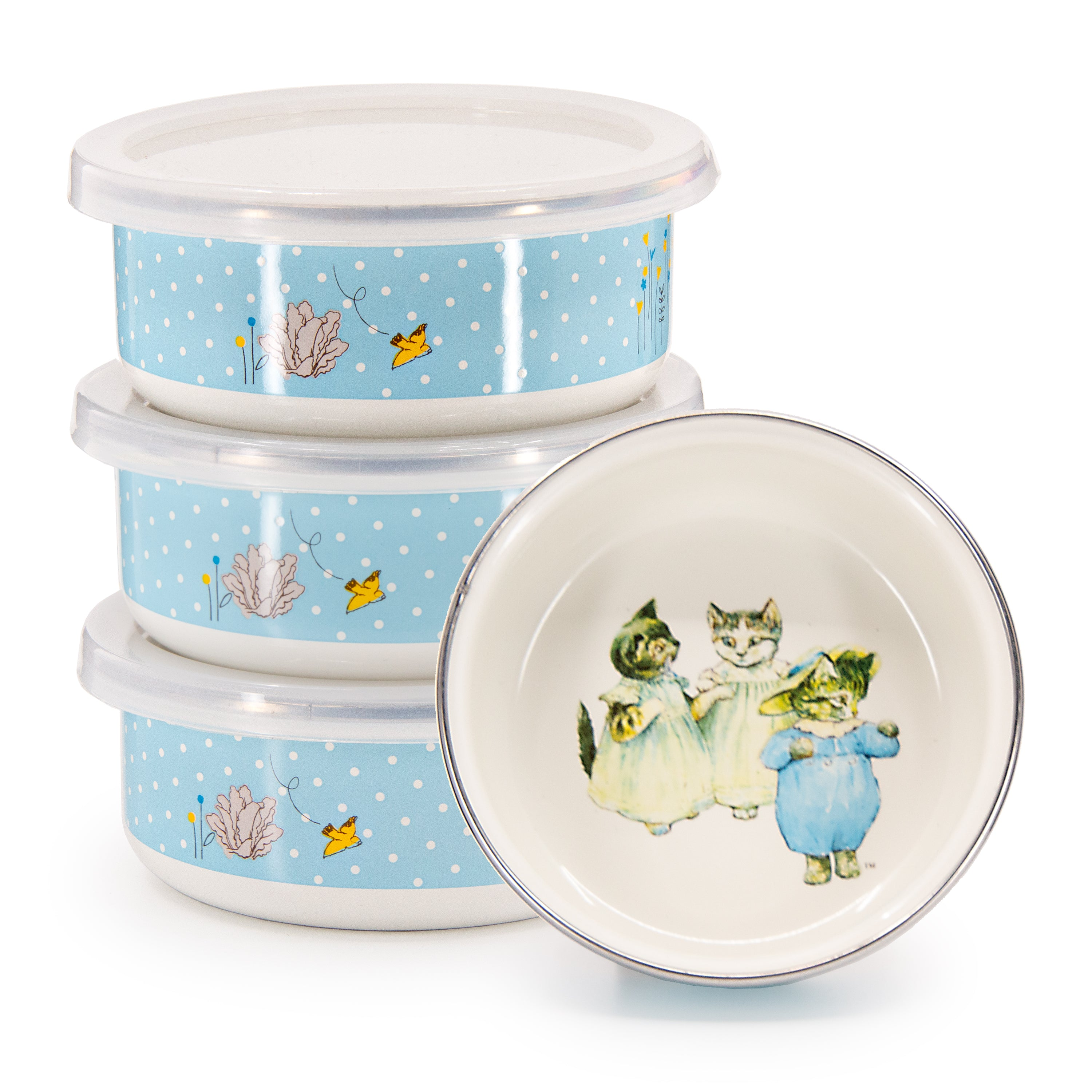 Set of 4 Tom Kitten Child Bowls