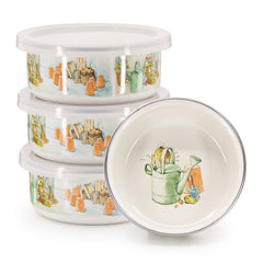 Set of 4 Peter & the Watering Can Child Bowls