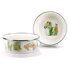 WC60S4 Set of 4 Peter & the Watering Can Child Bowls