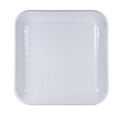 WW09S2 - Set of 2 Solid White Square Trays Image 2