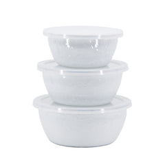 WW30 - Solid White Nesting Bowls Image 2