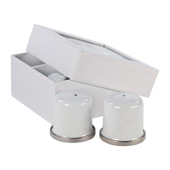 WW37 - Solid White Salt & Pepper Product 1