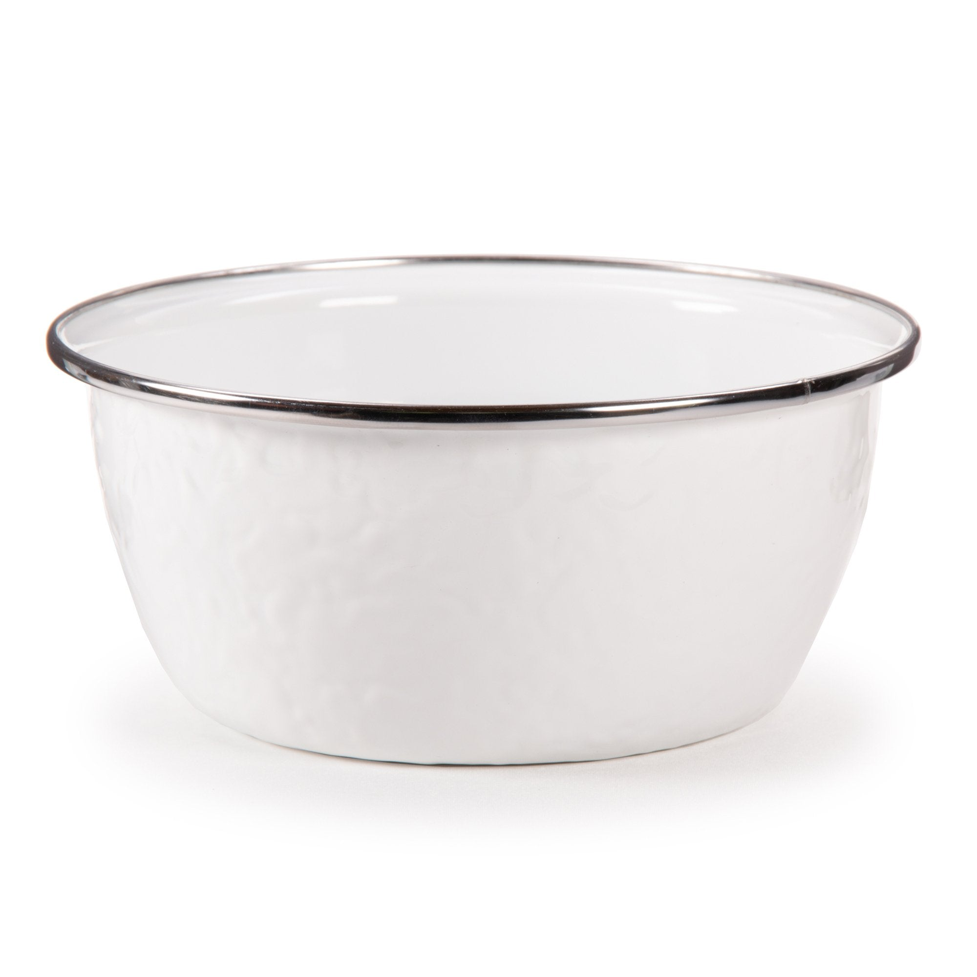 WW61 - Solid White Pattern - Salad Bowl