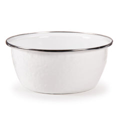 WW60S4 - Set of 4 Solid White Soup Bowls Image 2