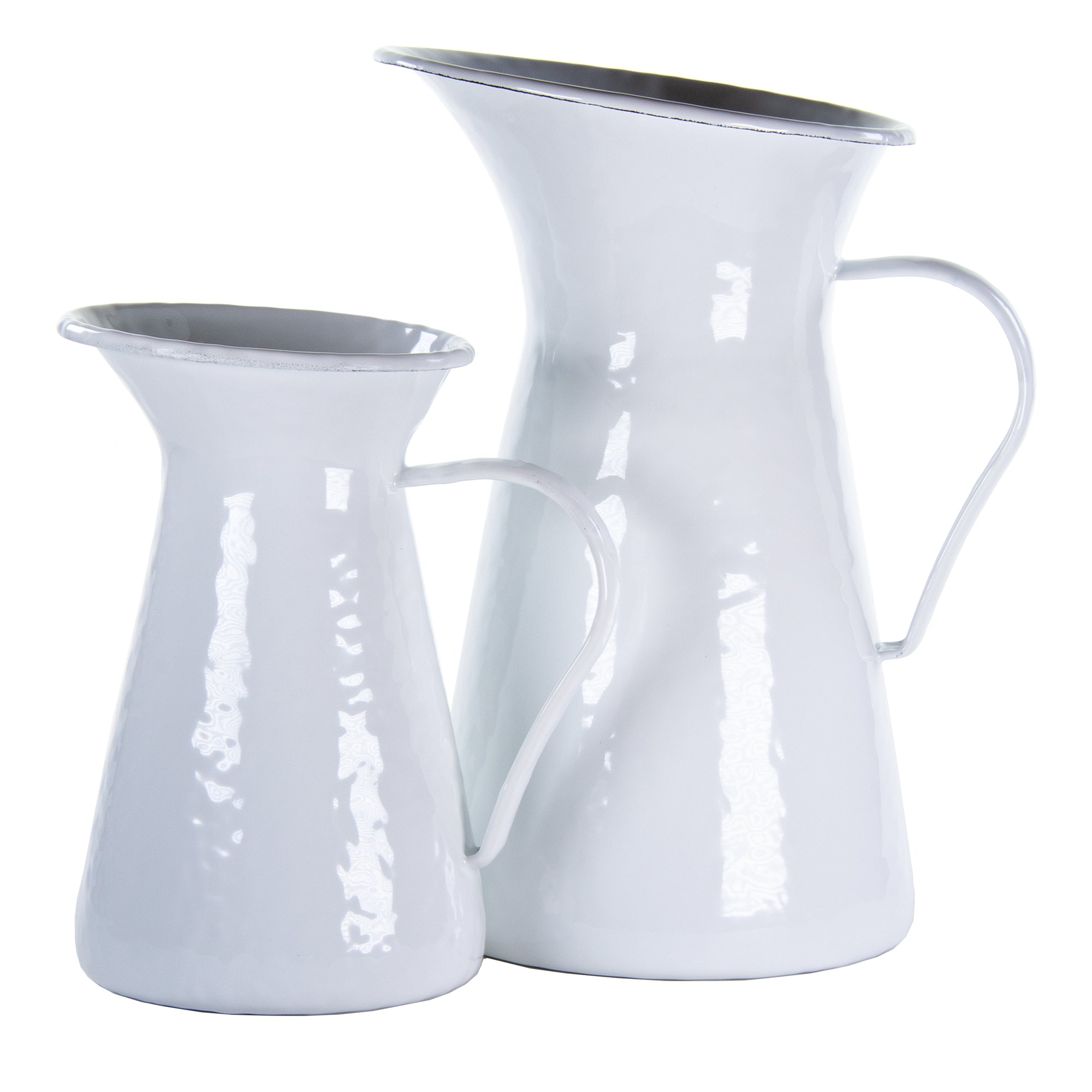 WW63 - Solid White Medium Pitcher Image 2