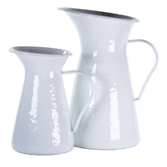 WW33 - Solid White Small Pitcher Image 2