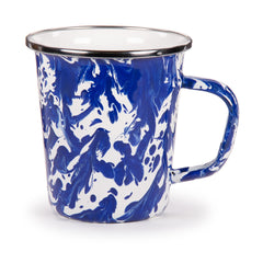 CB66S4 - Set of 4 Cobalt Swirl Latte Mugs Product 1