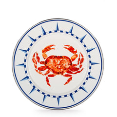 CR07S4 - Set of 4 Crab House Dinner Plates Product 1