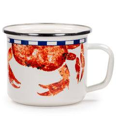 CR26S2 - Set of 2 Crab House Chargers Image 2
