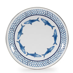 FC56S4 - Set of 4 Fish Camp Dinner Plates Product 1