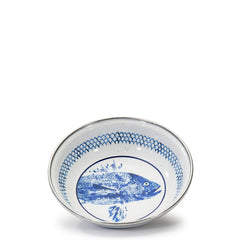 FC56S4 - Set of 4 Fish Camp Dinner Plates Image 2