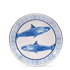FC69S4 - Set of 4 Fish Camp Sandwich Plates Product 1