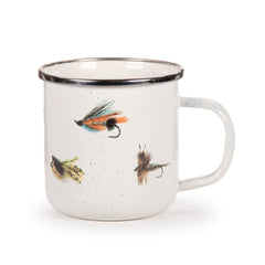 FF05S4 - Set of 4 Fishing Fly Adult Mugs Image 1