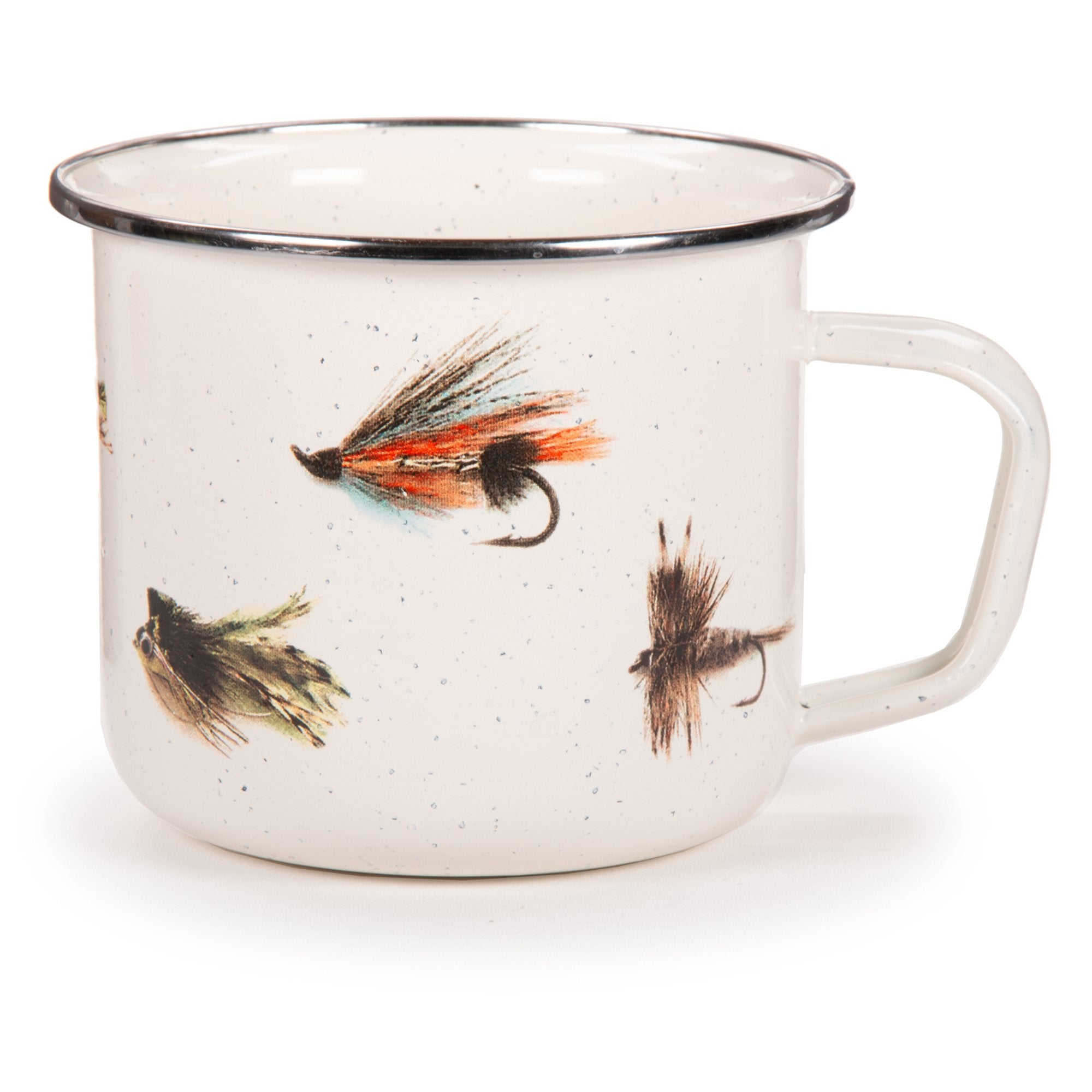 FF28S4 - Set of 4 Fishing Fly Grande Mugs Image 1