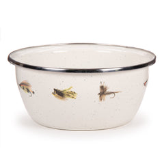 FF61S4 - Set of 4 Fishing Fly Salad Bowls Image 1