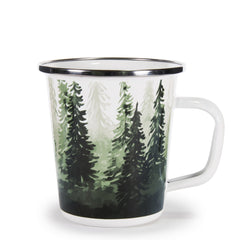 FG66 - Forest Glen Pattern - Latte Mug
