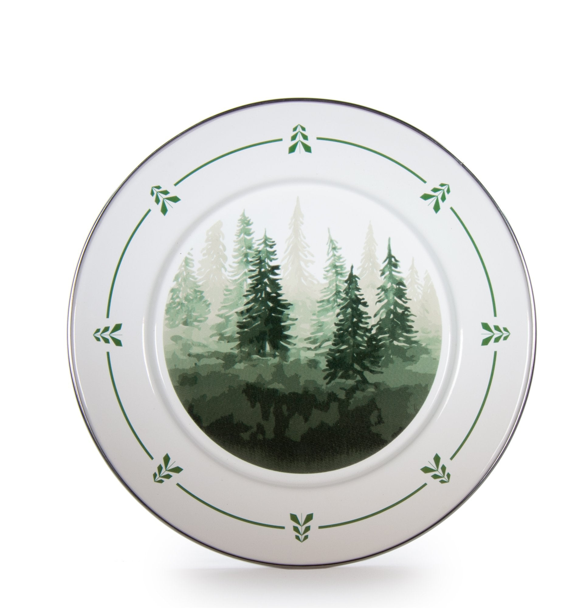 FT07S4 - Forest Trees Dinner Plates S-4