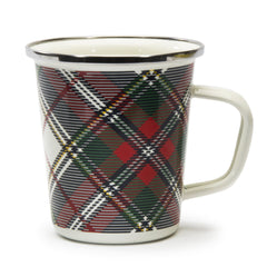 HP66S4 - Set of 4 Highland Plaid Latte Mugs Product 1